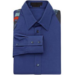 ALEXANDER MCQUEEN, Long Sleeve Shirt, Poplin Harness Shirt