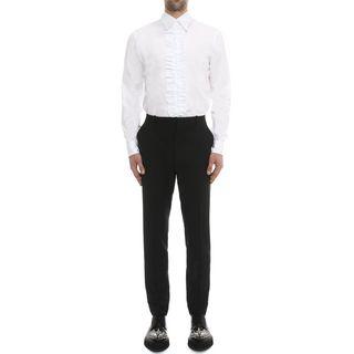 ALEXANDER MCQUEEN, Long Sleeve Shirt, Ruffle shirt