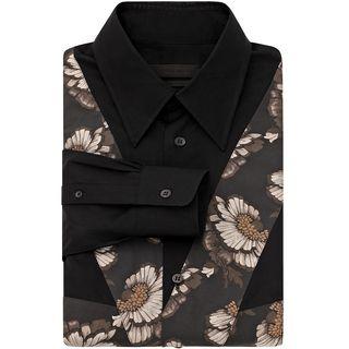 ALEXANDER MCQUEEN, Long Sleeve Shirt, Hibiscus Flag Shirt