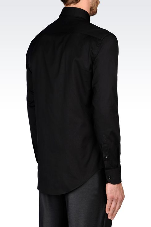 Shirts: Long sleeve shirts Men by Armani - 3