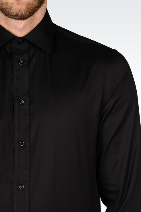 Shirts: Long sleeve shirts Men by Armani - 4