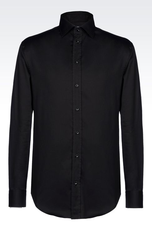 Shirts: Long sleeve shirts Men by Armani - 1