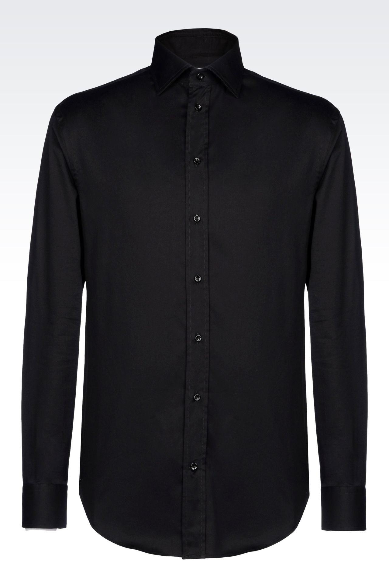 Shirts: Long sleeve shirts Men by Armani - 0