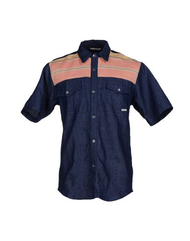 Foto IRON AND RESIN Camicia jeans uomo Camicie jeans