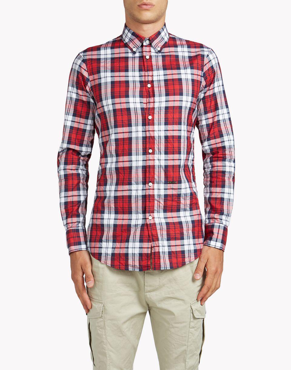 Dsquared2 Classic Button Down SHirt, Long Sleeve Shirts Men ...