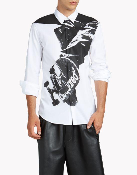 relax dan shirt shirts Man Dsquared2