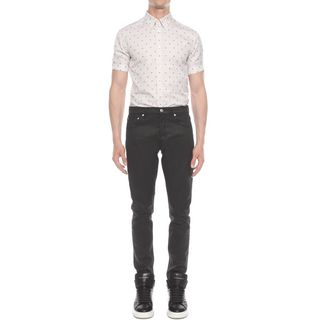 ALEXANDER MCQUEEN, Short Sleeve Shirt, Skull Check Short Sleeve Shirt