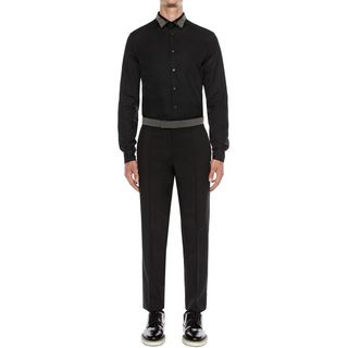 ALEXANDER MCQUEEN, Long Sleeve Shirt, Cotton Poplin Shirt