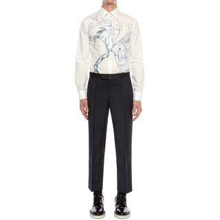ALEXANDER MCQUEEN, Long Sleeve Shirt, Tree Print Shirt