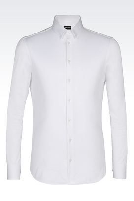 Armani Long sleeve shirts Men jersey shirt