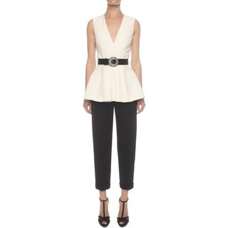 ALEXANDER MCQUEEN, Top & Shirt, Box Pleat Top