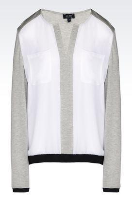 Armani Blouses Women crêpe blouse