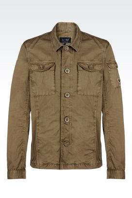 Armani Dust jackets Men cotton jacket