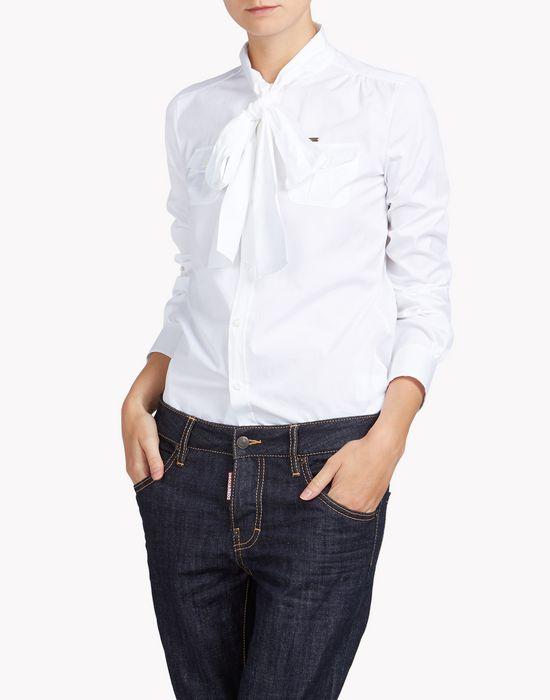 bow shirt shirts Woman Dsquared2