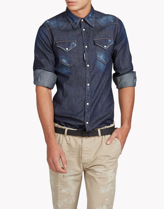 western shirt shirts Man Dsquared2