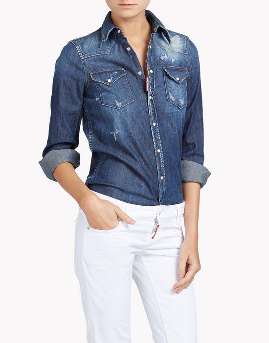 western shirt shirts Woman Dsquared2