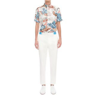 ALEXANDER MCQUEEN, Short Sleeve Shirt, Legendary Creature Shirt