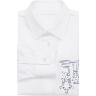 ALEXANDER MCQUEEN, Long Sleeve Shirt, Embroidered Shirt