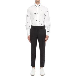 ALEXANDER MCQUEEN, Long Sleeve Shirt, Slim Fit Shirt