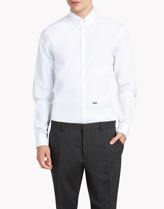 tab collar mb shirt shirts Man Dsquared2