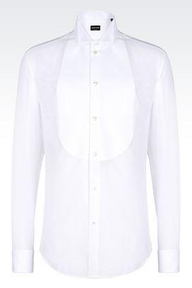 Armani Shirts Men cotton dinner shirt