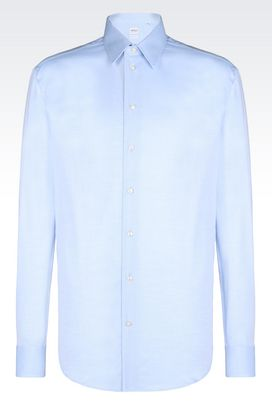 Armani Long sleeve shirts Men cotton shirt