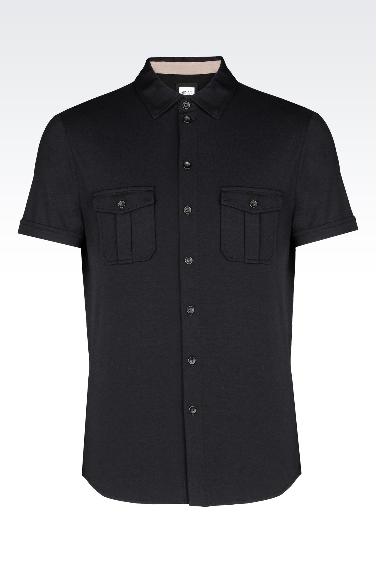 Short sleeve black shirt mens is shirt for Short sleeved shirts for men