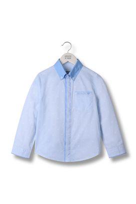 Armani Long sleeve shirts Men shirt in striped cotton