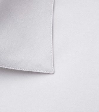 ERMENEGILDO ZEGNA: Formal Shirt White - 38529099DW