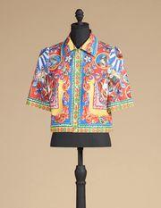 SHIRT IN COTTON POPLIN  - Short sleeve shirts - Dolce&Gabbana - Summer 2016