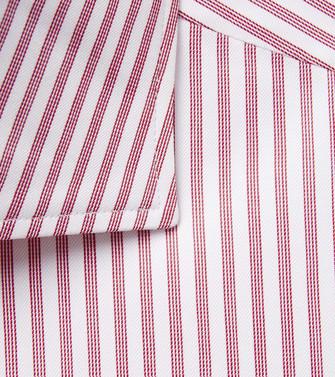 ERMENEGILDO ZEGNA: Camisa Casual Burdeos - 38532162CF