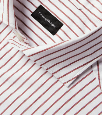 ERMENEGILDO ZEGNA: Formal Shirt White - 38534201TQ
