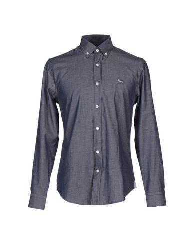 Foto HARMONT&BLAINE Camicia jeans uomo Camicie jeans