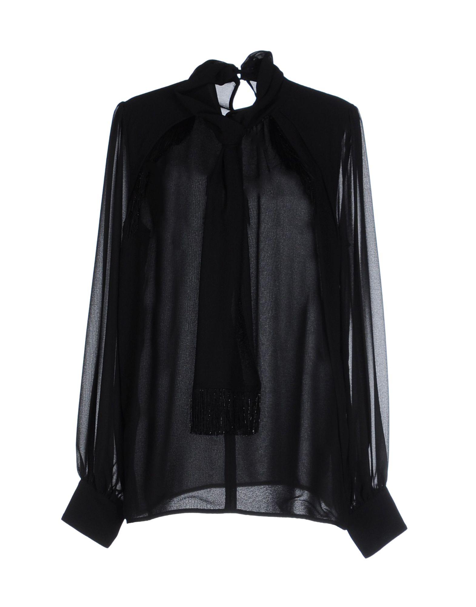 ATOS LOMBARDINI Damen Bluse Farbe Schwarz Größe 5