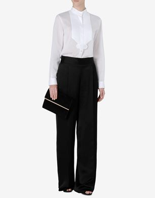 Maison Margiela Cotton blouse with Mao collar