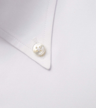 ERMENEGILDO ZEGNA: Formal Shirt White - 38537846IF