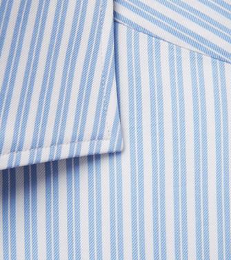 ERMENEGILDO ZEGNA: Casual Shirt Pastel blue - 38537847XM