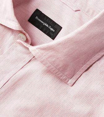 ERMENEGILDO ZEGNA: Casual Shirt White - 38541141QV