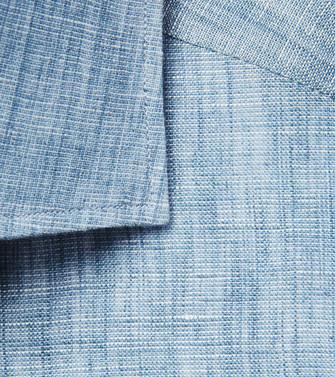 ERMENEGILDO ZEGNA: Casual Shirt Turquoise - 38541148RU