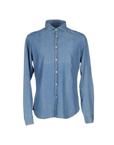 Foto MICHAEL COAL Camicia jeans uomo Camicie jeans