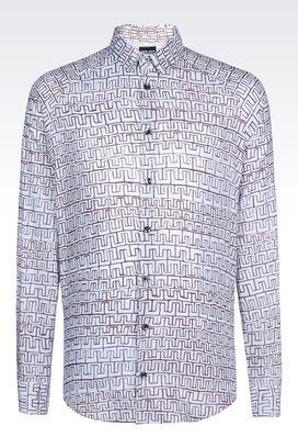 Armani Shirts Men cotton shirt