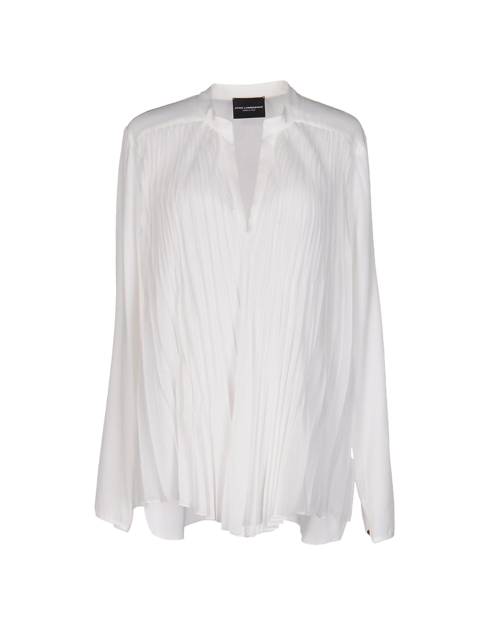 ATOS LOMBARDINI Damen Bluse Farbe Weiß Größe 5