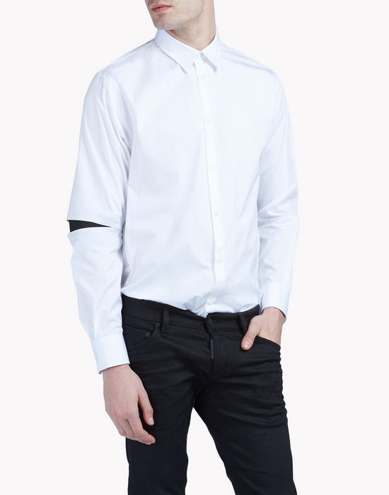open elbow shirt shirts Man Dsquared2
