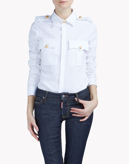 sergent shirt shirts Woman Dsquared2