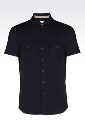 Armani Short sleeve shirts Men shirts