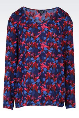 Armani Blouses Women heart print blouse