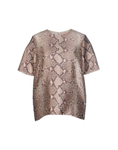 Блузки шёлковые с принтом