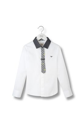 Armani Long sleeve shirts Men shirt with tie
