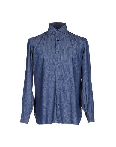 Джинсовая рубашка от LUIGI BORRELLI NAPOLI