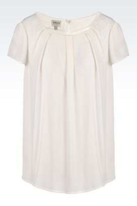 Armani Blouses Women top in georgette